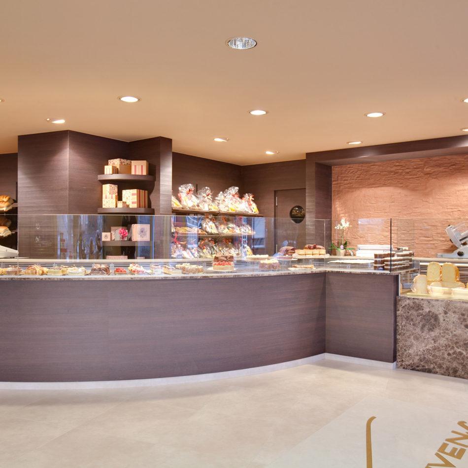 Boulangerie lievens integral am nagement des magasins for Interieur lievens