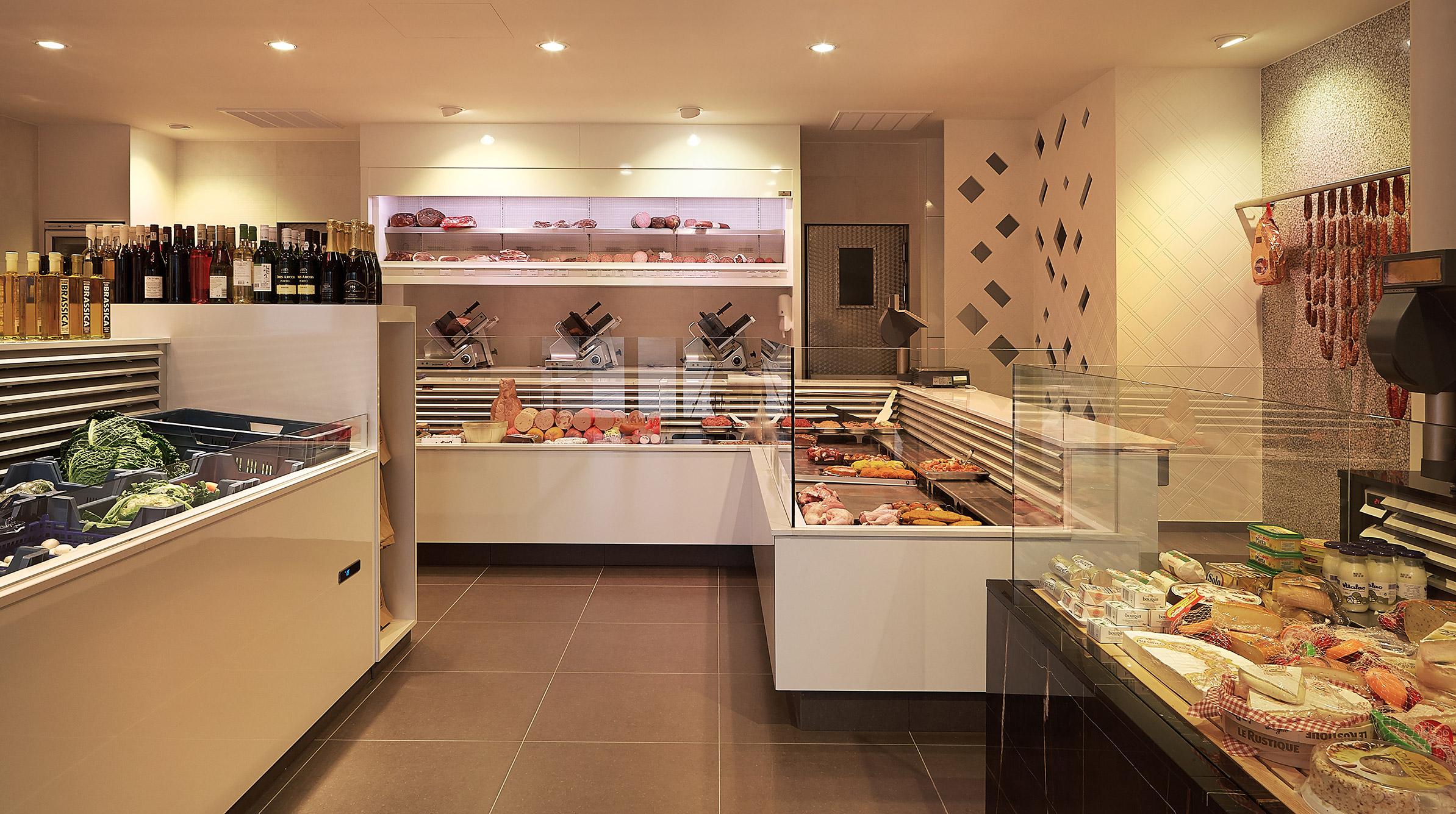 boucherie vansevenant integral agencement de magasins. Black Bedroom Furniture Sets. Home Design Ideas
