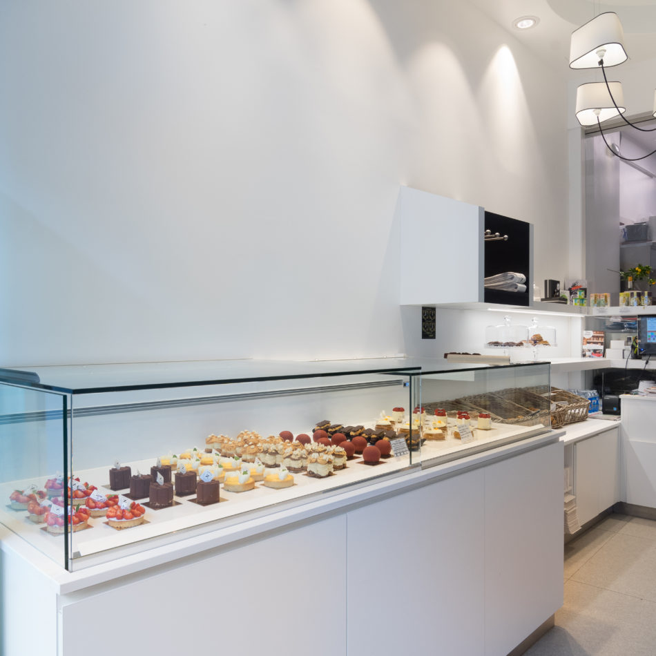 inrichting chocolaterie zack koeltoonbank trendy design brussel integral