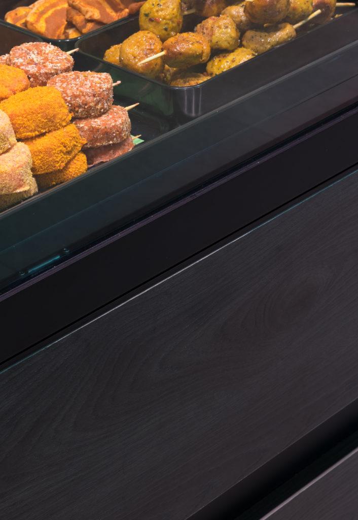 inrichting slager vandecruys koeltoonbank detail design trendy kasterlee integral