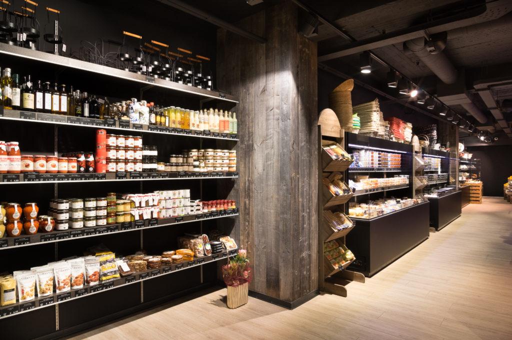 inrichting slager traiteur h2i koeltoonbank wandkoeling foodmarket trendy design aalst integral