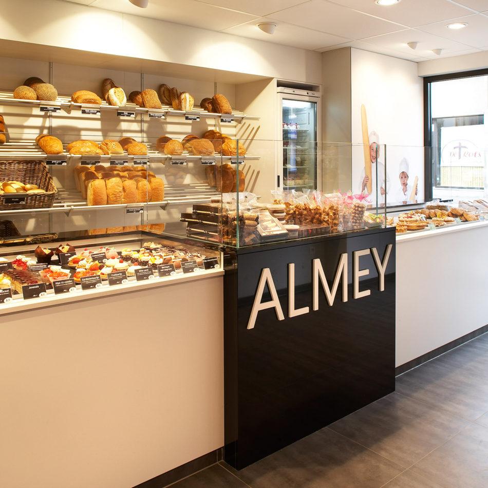 Almey bakkerij interieur