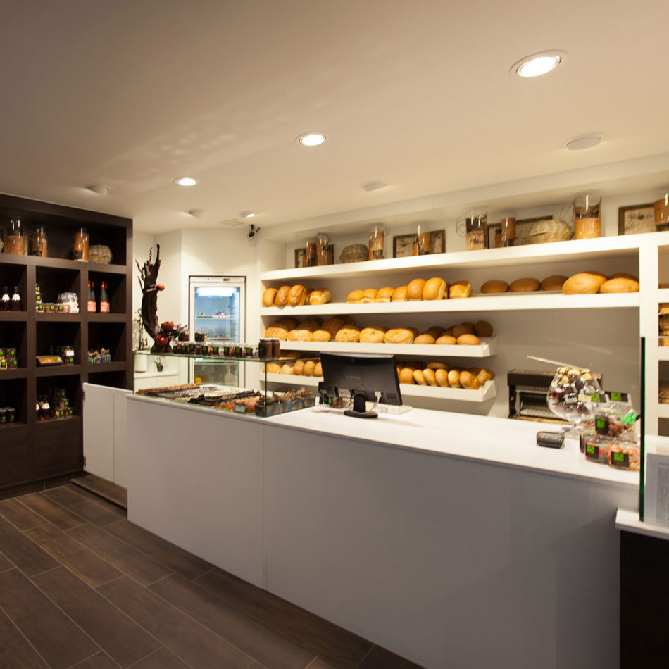 Baele chocolaterie modern interieur