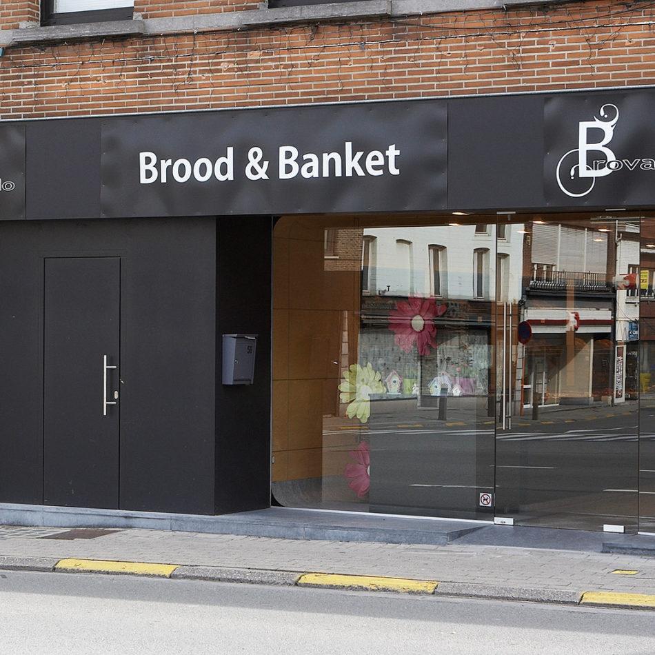 Foto van voorkant van bakkerij Brovado inrichting