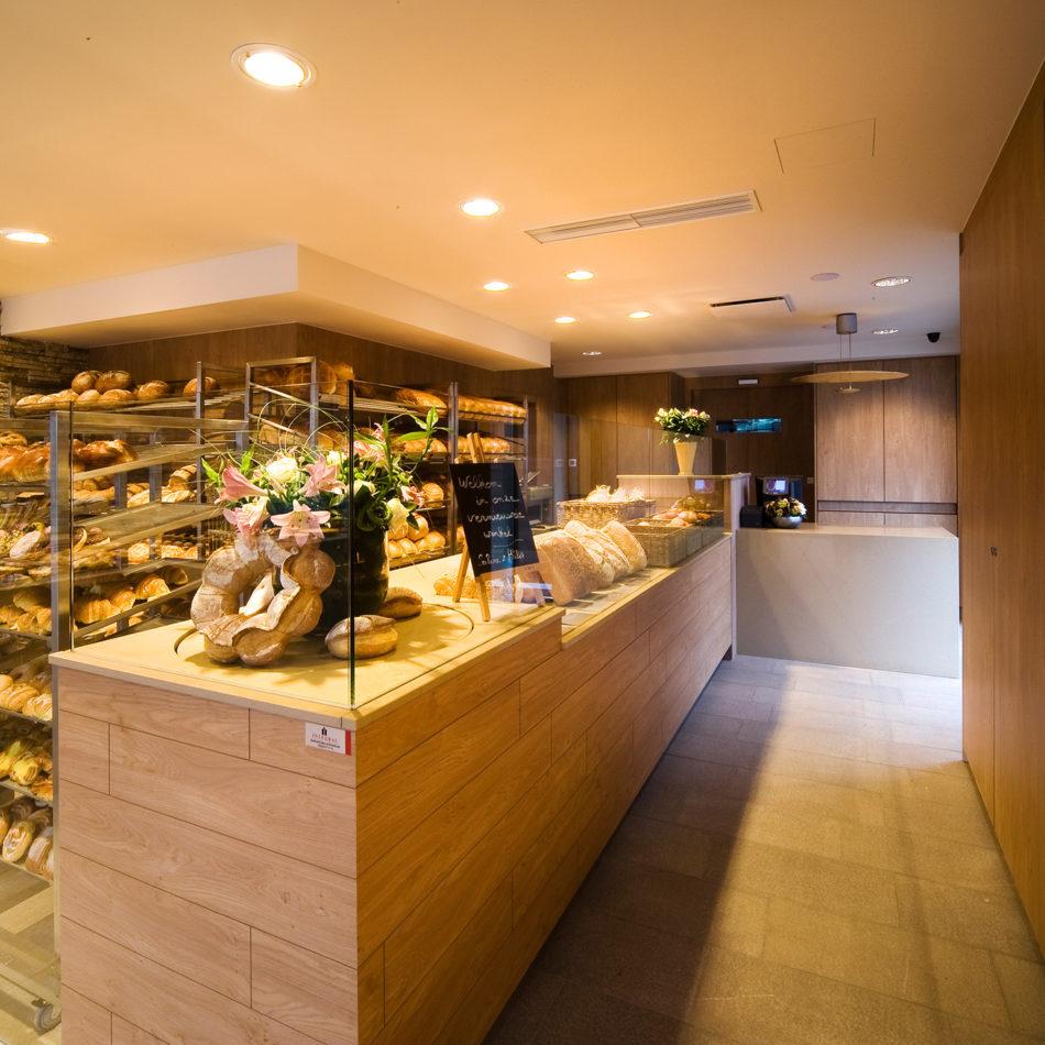 Interieur van bakkerij Buyle