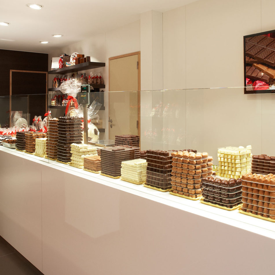 Delvaux chocolaterie Integral