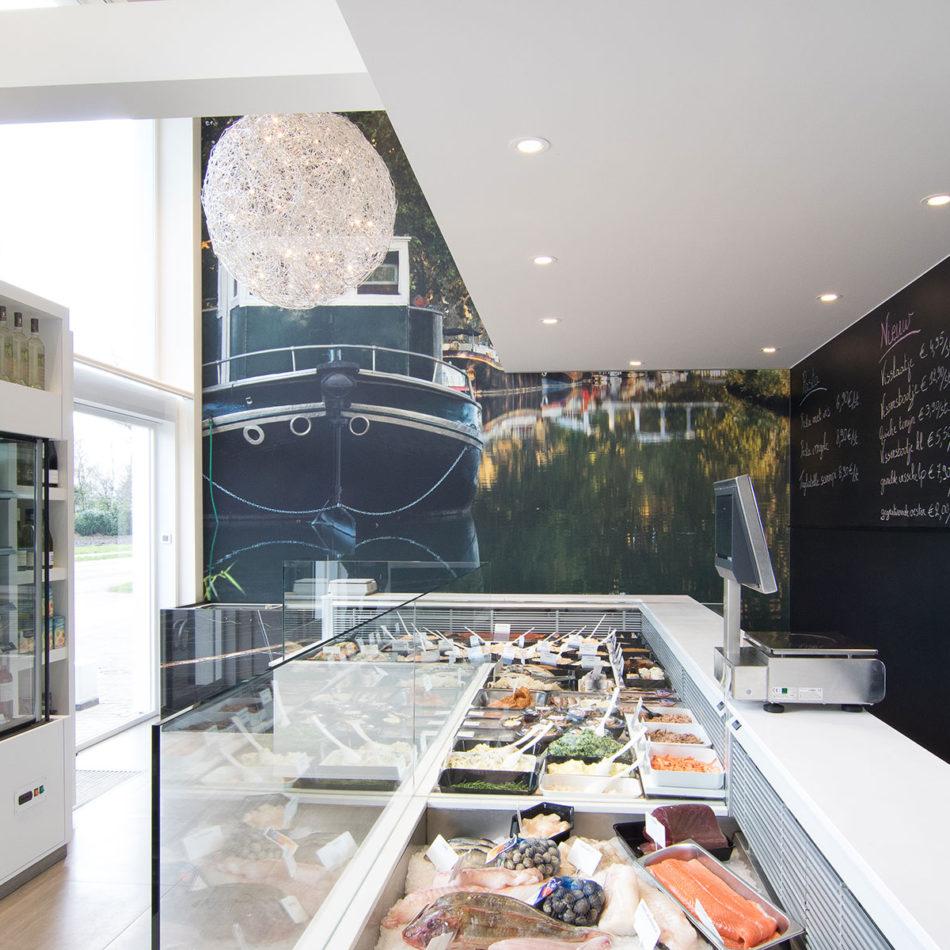 De Singel vishandel inrichting