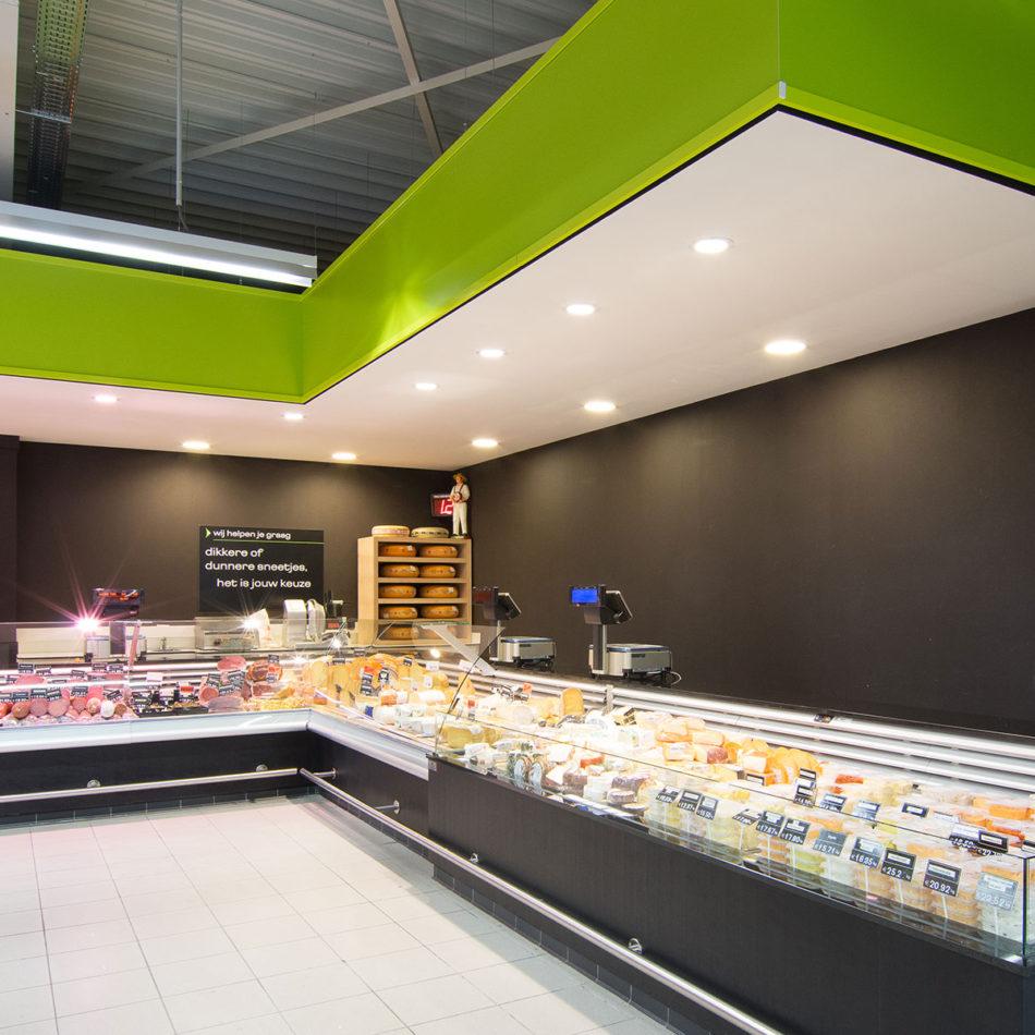 slagerij Raeymaekers met mooi modern interieur door Integral