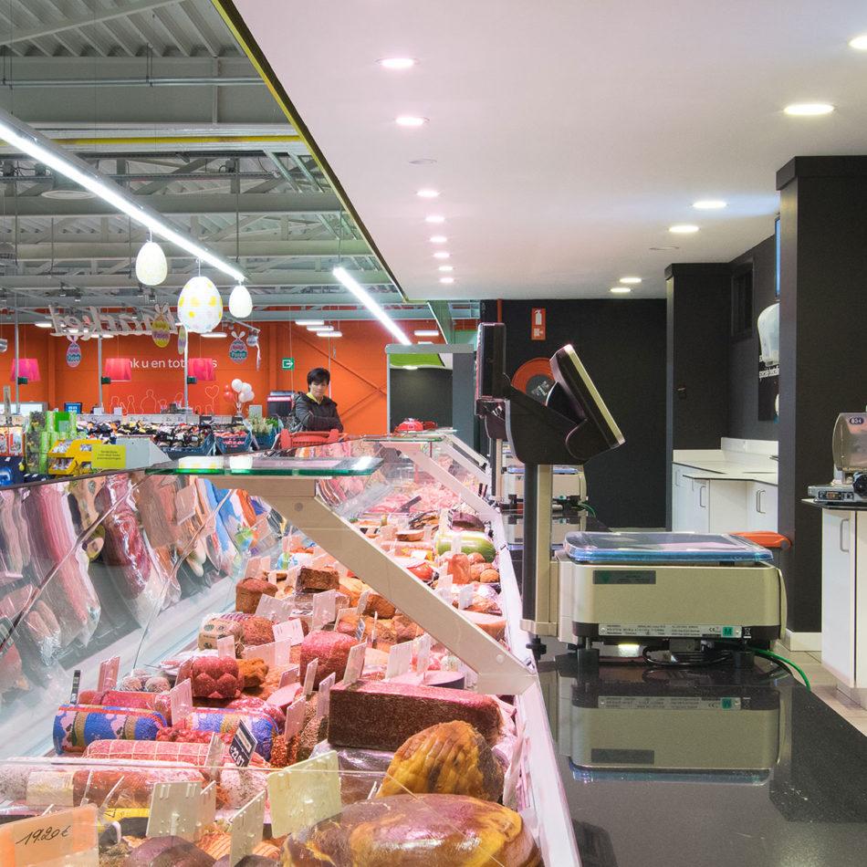 slagerij Raeymaekers totaalinrichting door Integral