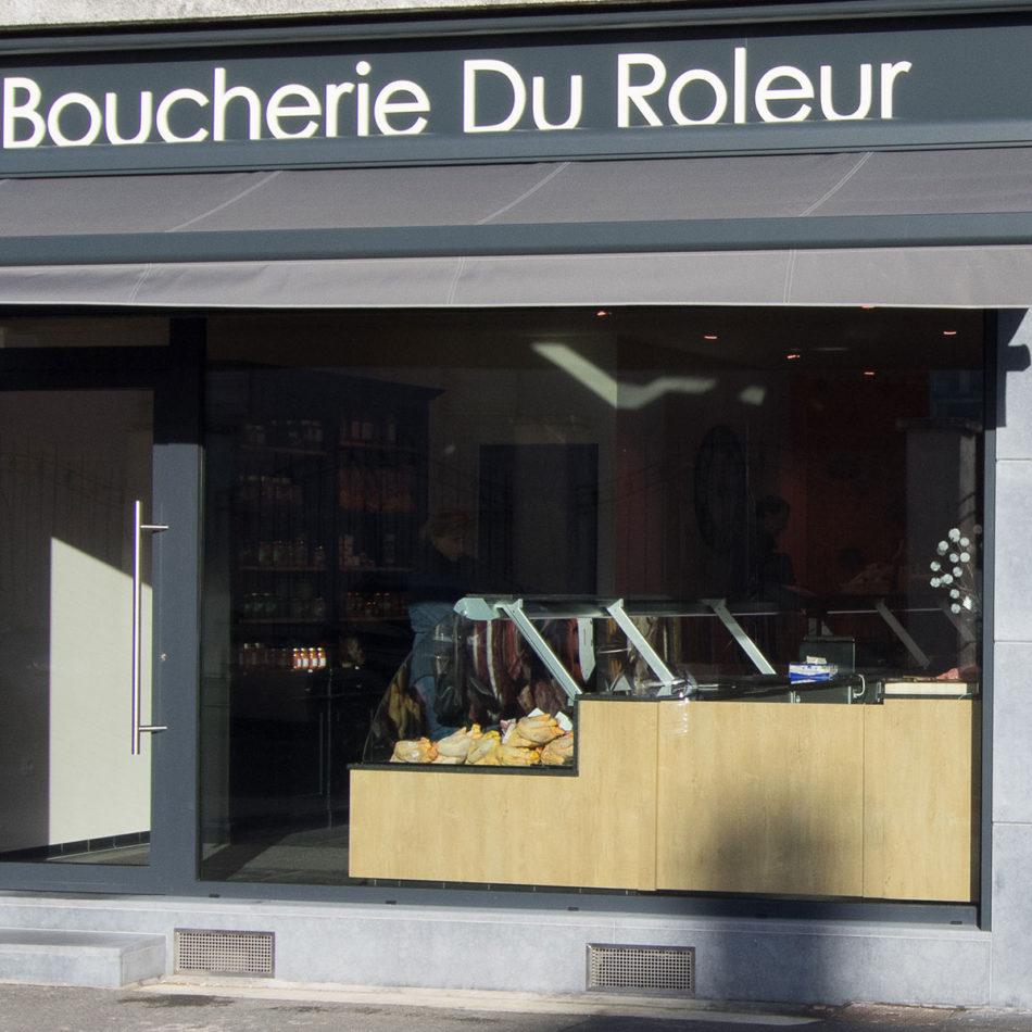 slagerij Boucherie Du Roleur buitengevel