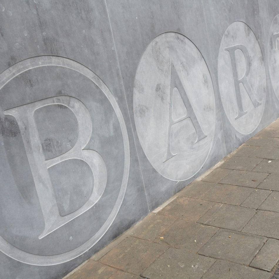 Bakkerij Bart inrichting van de buitenkant van de bakker