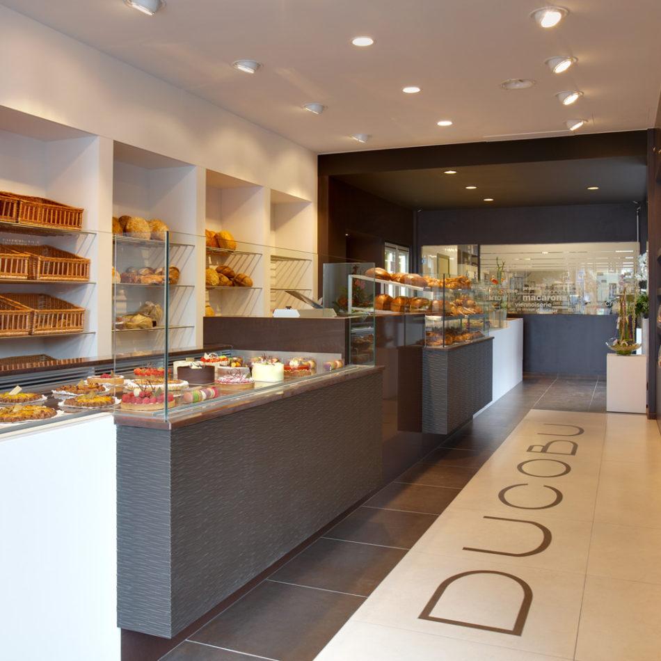 Totaalinrichting van chocolaterie Ducobu