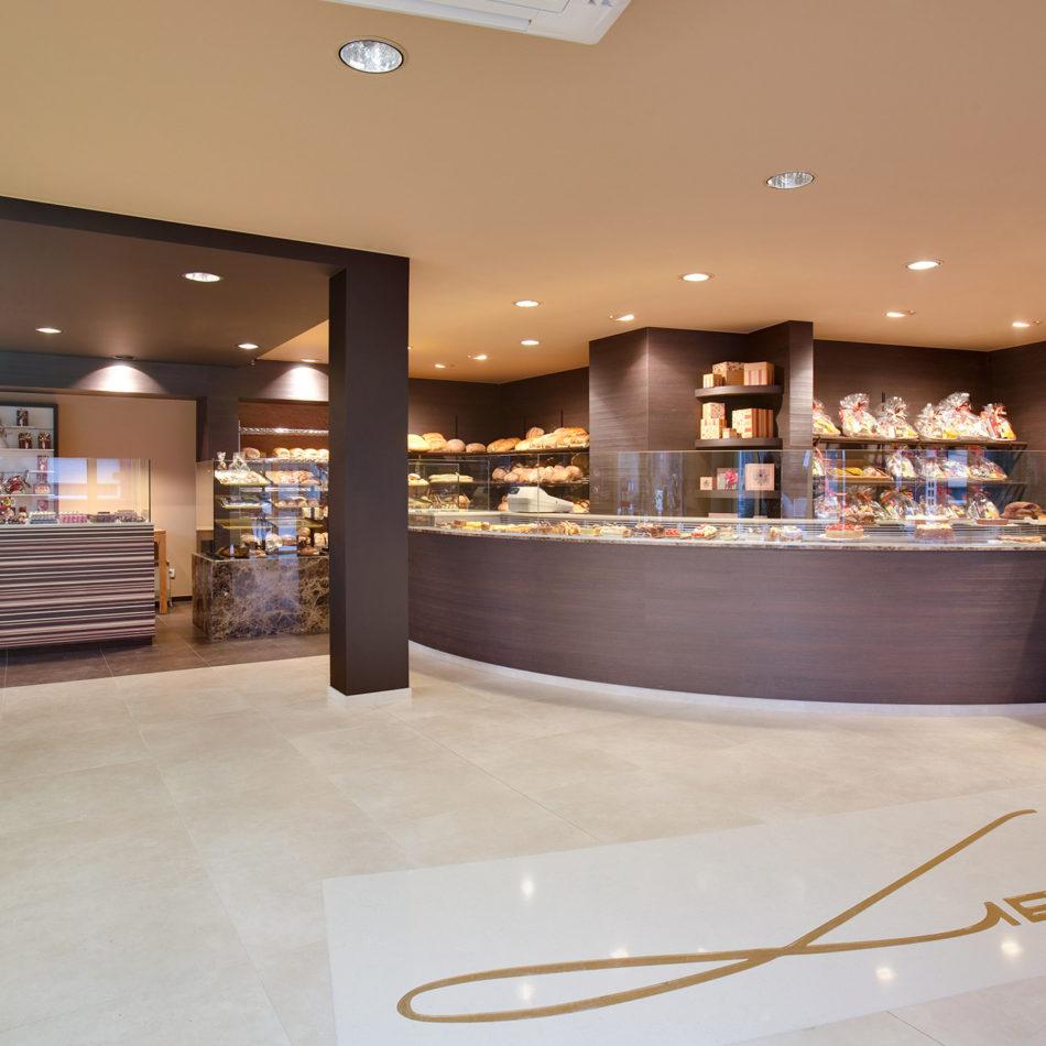 Lievens totaalinrichting bakkerij integral interiors