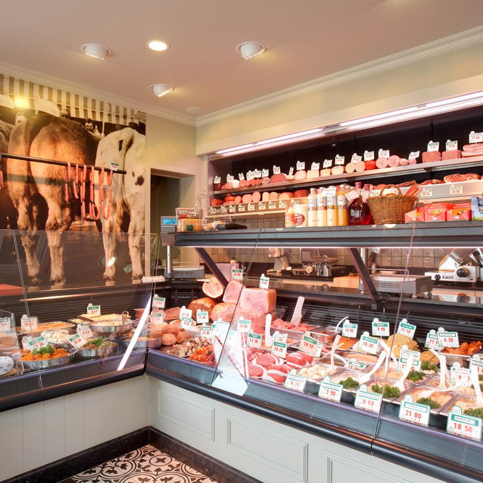 slagerij Vehent inrichting