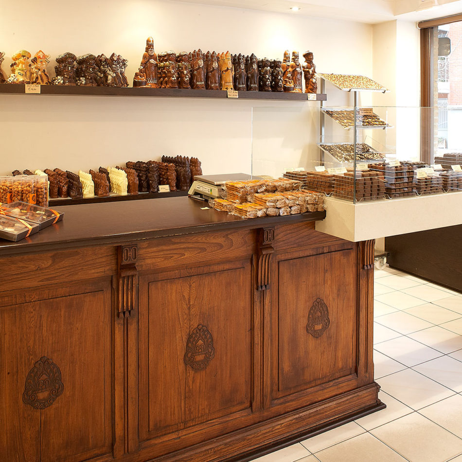 Maenhout chocolaterie interieur