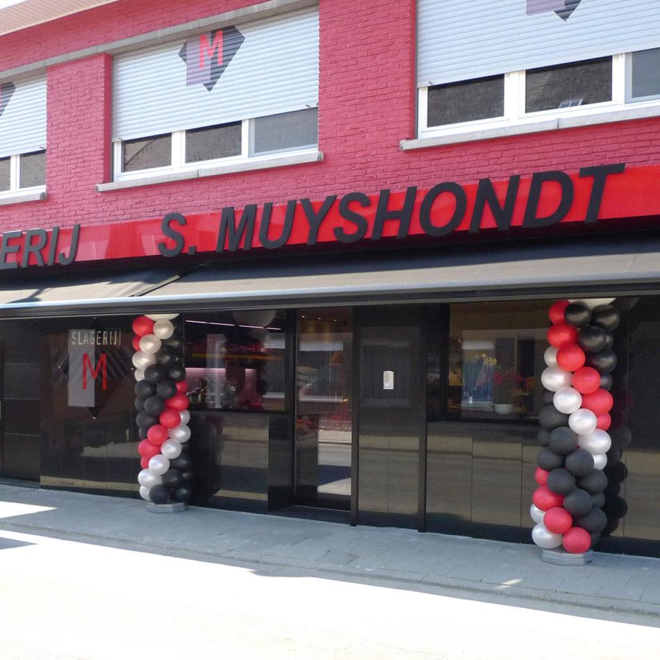 slagerij Muyshondt buitenaanzicht