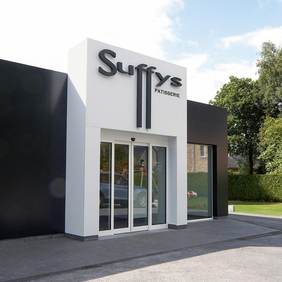 Bakkerij Suffys buitenkant winkel interieur