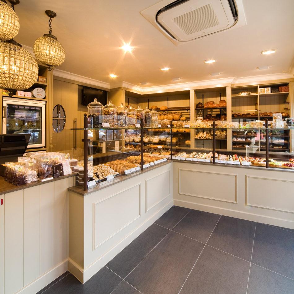 Van Acker bakkerij totaalinrichting vernieuwd