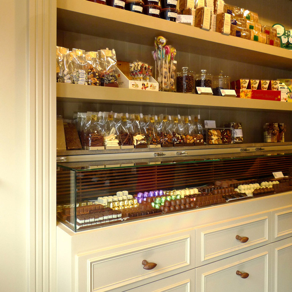 Chocolaterie Vanacker inrichting