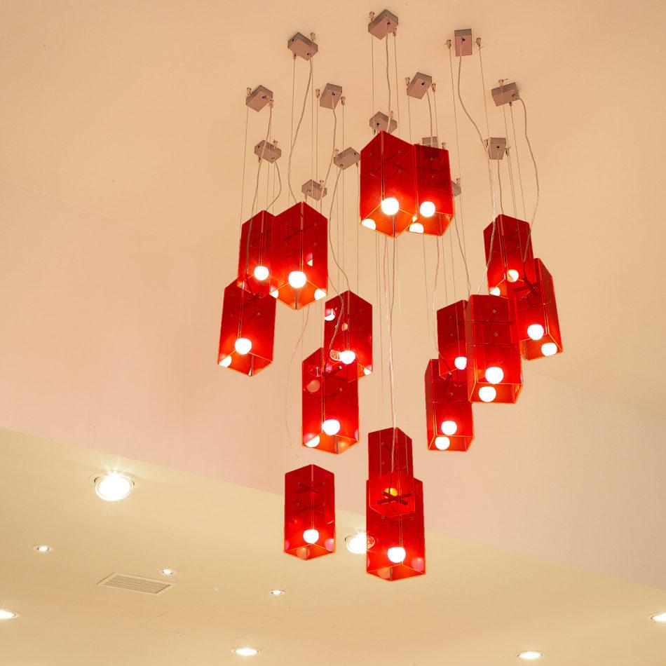 slagerij Vansevenant interieur lamp