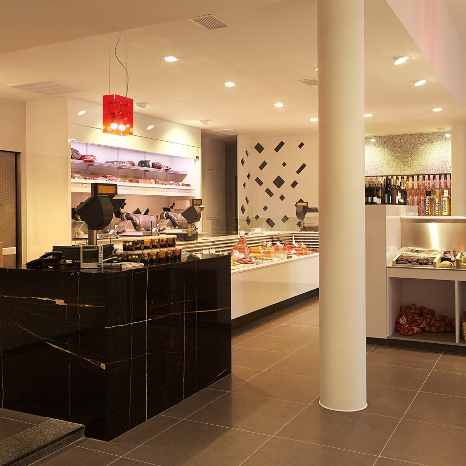 slagerij Vansevenant modern interieur