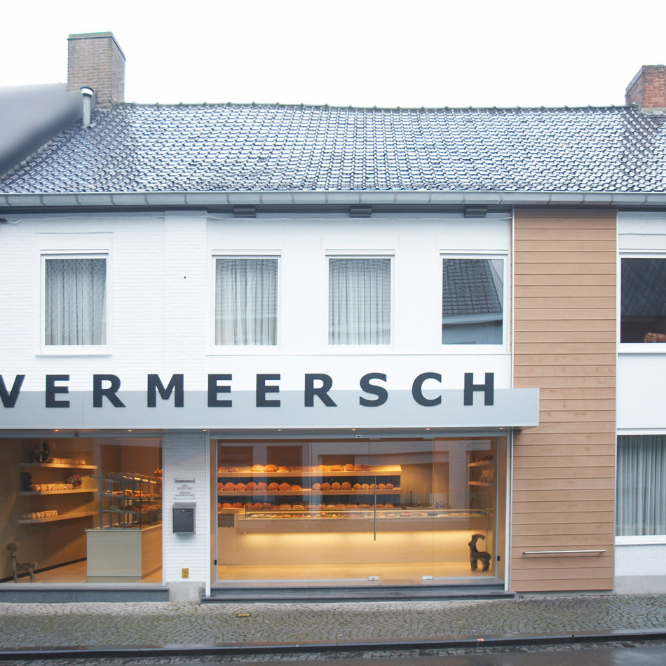 Vermeersch bakkerij buitenkant inrichting