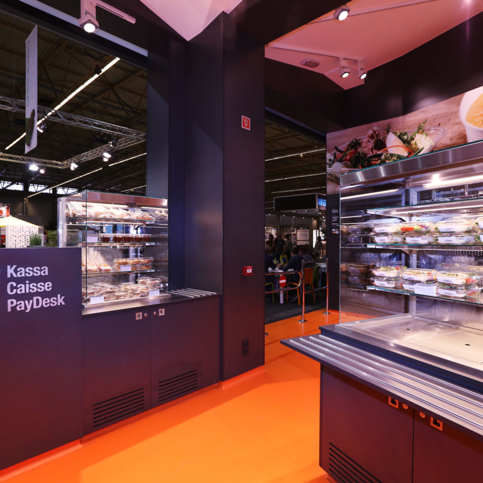 Flanders Expo Fast & Fresh - inrichting door Integral