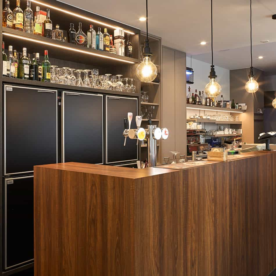 inrichting de mane bar bistro restaurant diksmuide integral