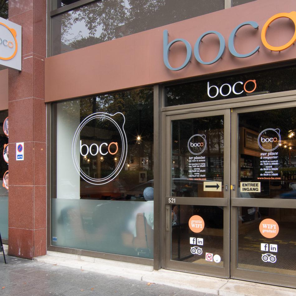 inrichting boco snackbar hip trendy design brussel integral