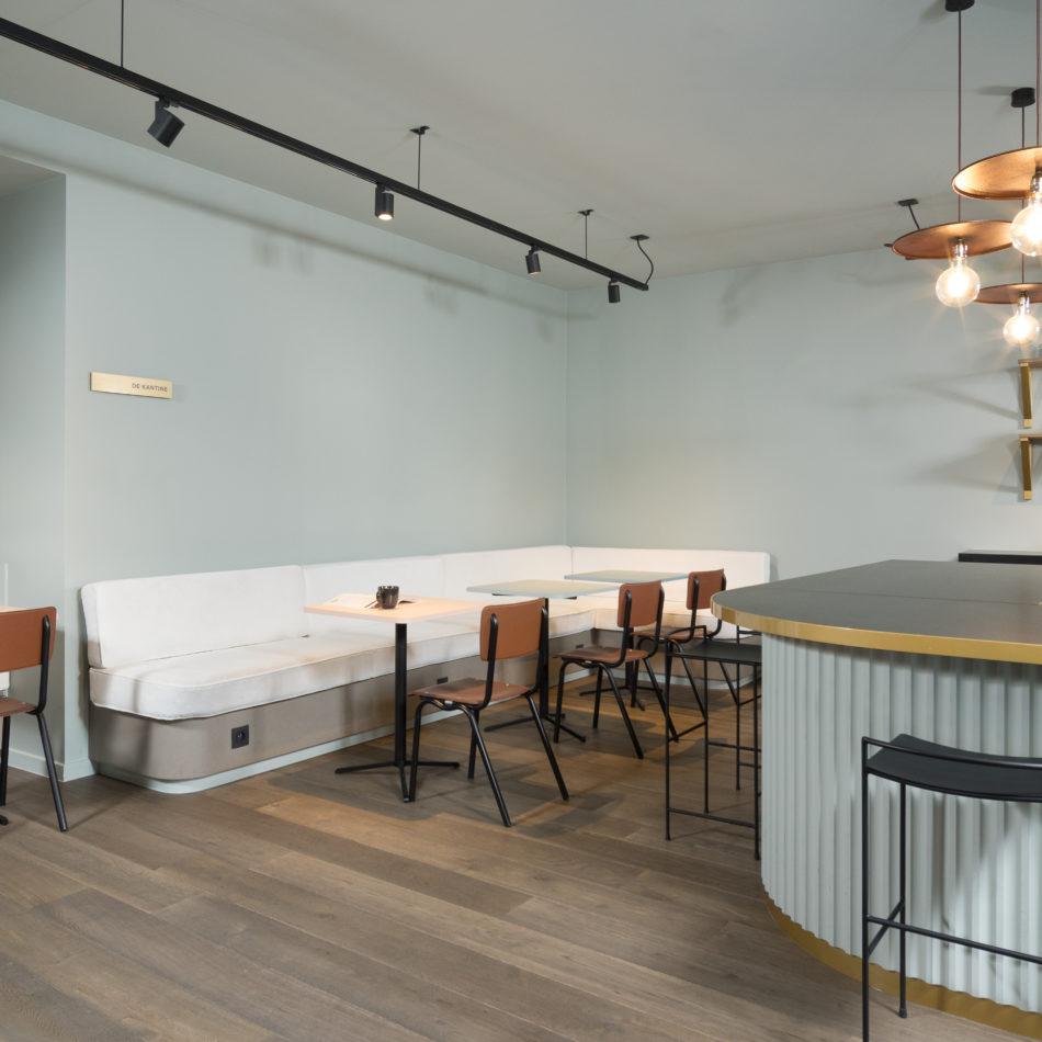 inrichting kantoor handlangers office design trendy gent integral