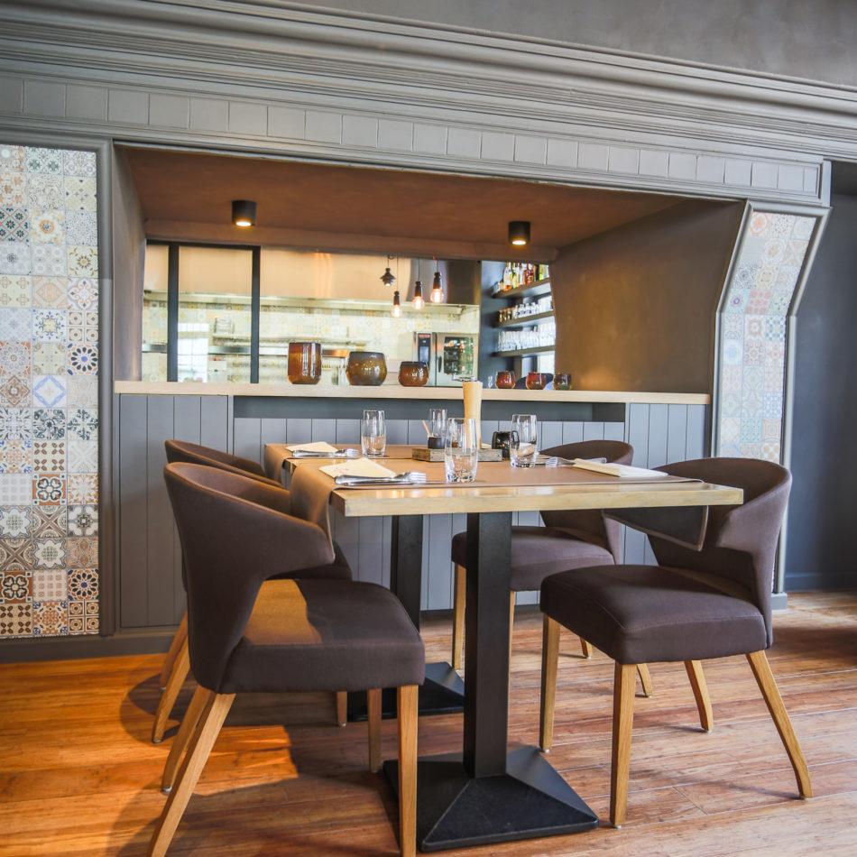 inrichting cuisine kwizien bar bistro restaurant gezellig zwevezele integral