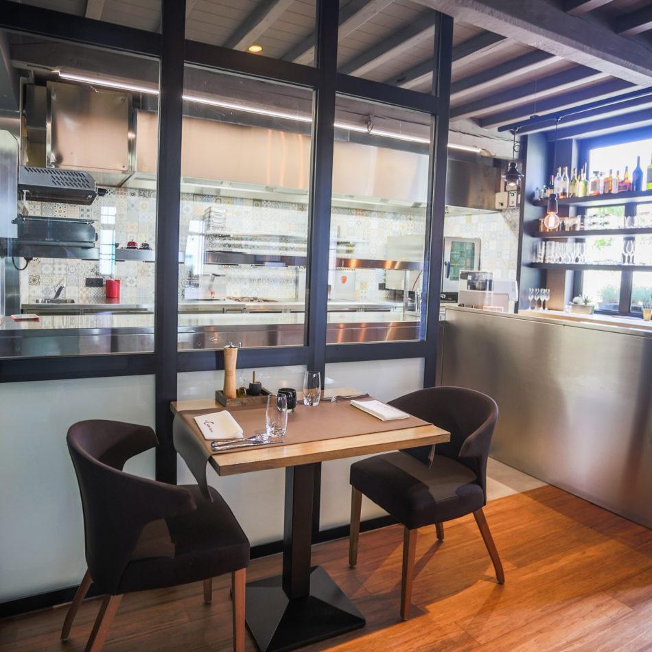 inrichting cuisine kwizien bar bistro restaurant open keuken zwevezele integral