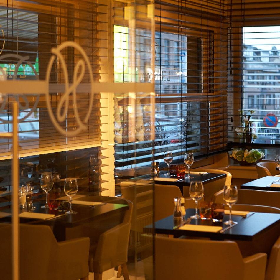 inrichting harmony bar bistro restaurant sint pieters woluwe integral