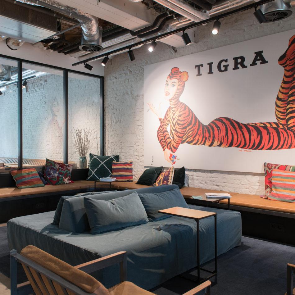inrichting kantoor amplahouse office design trendy gent integral