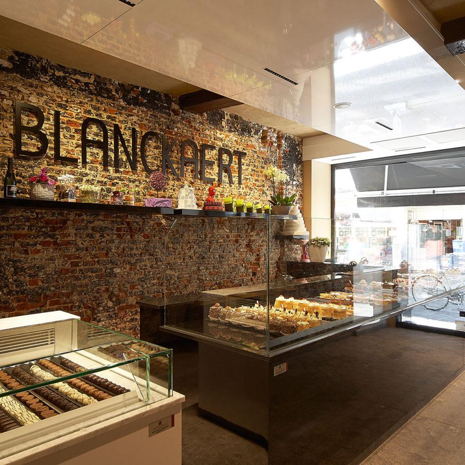 Blanckaert bakkerij inrichting