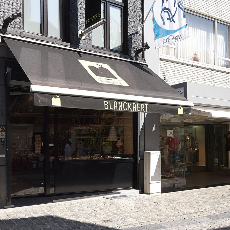 Bakkerij Blanckaert voorkant interieur