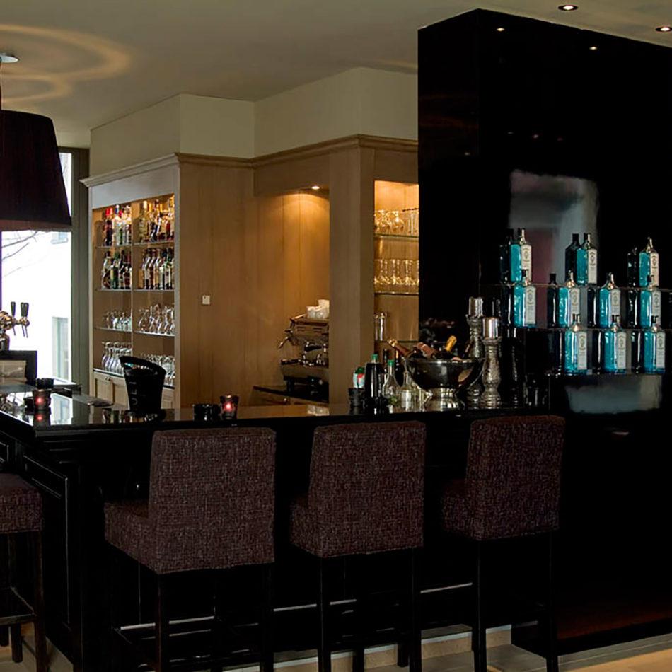 Flanders hotel meubilair en interieur restaurant, referentie van Integral Interiors