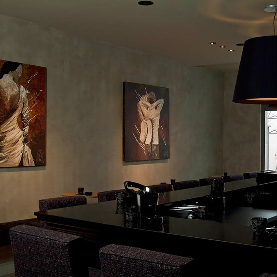 Flanders Hotel restaurant inrichting door Integral Interiors