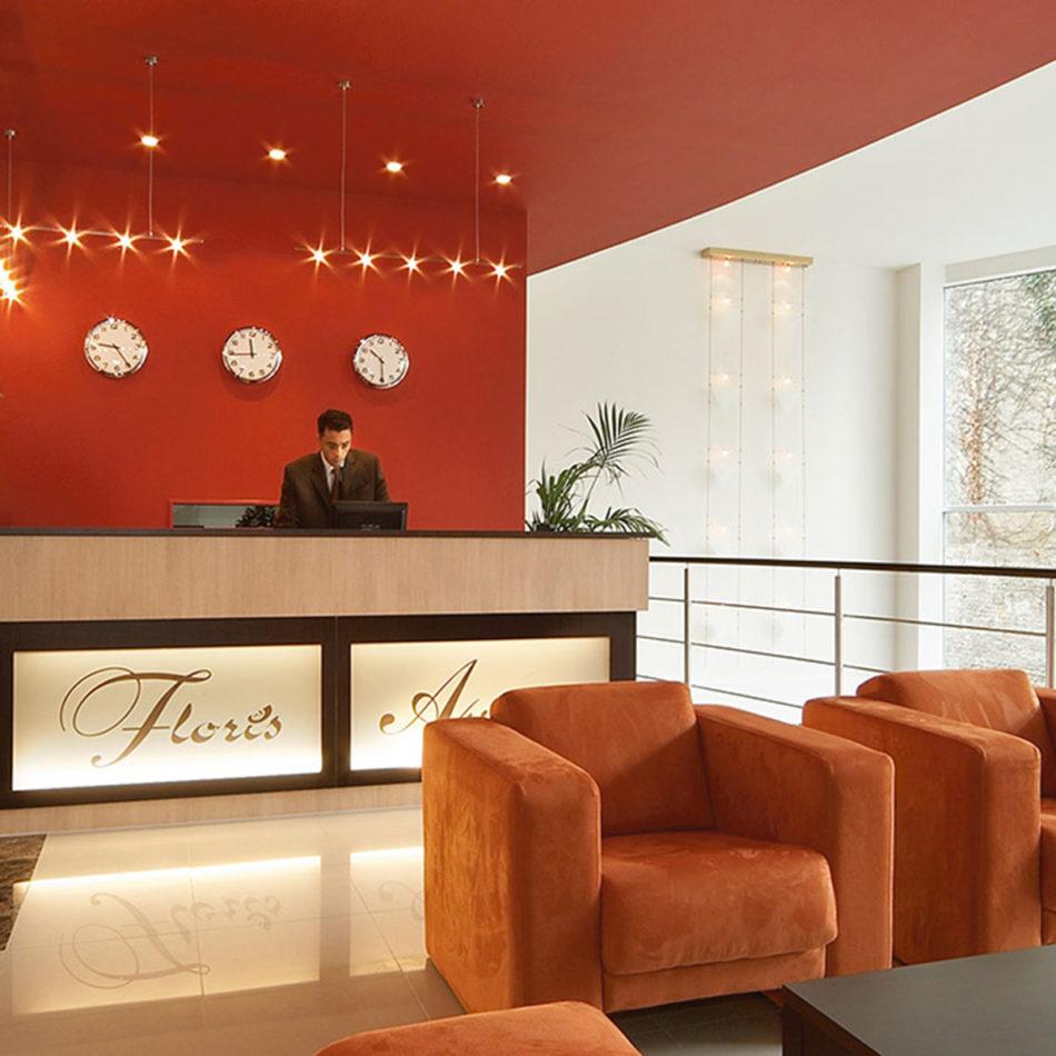 Hotel/publieke ruimte Floris inrichting door Integral