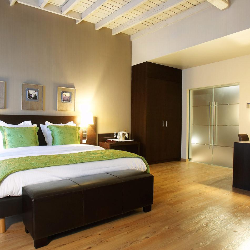 harmony modern hotelkamer interieur