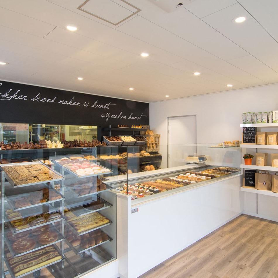 bakkerij Porca Terra vernieuwd interieur