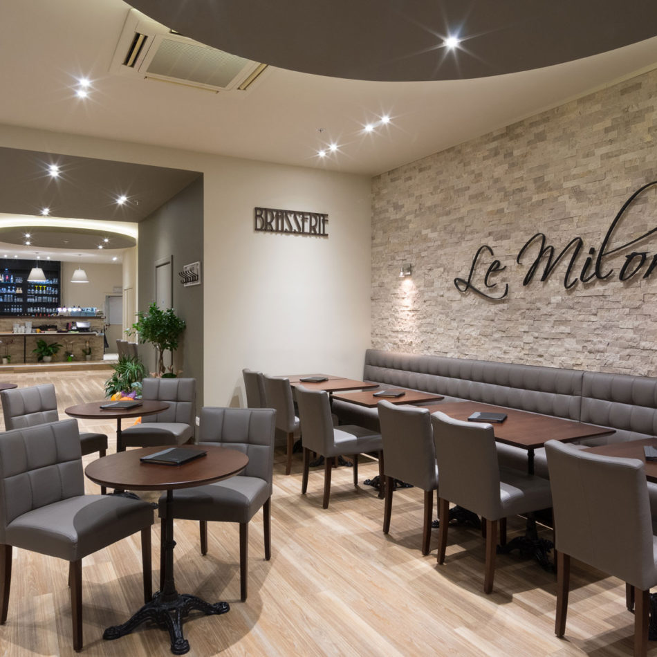 Restaurant interieur Le Milord in Sint-Agatha-Berchem door Integral Interiors