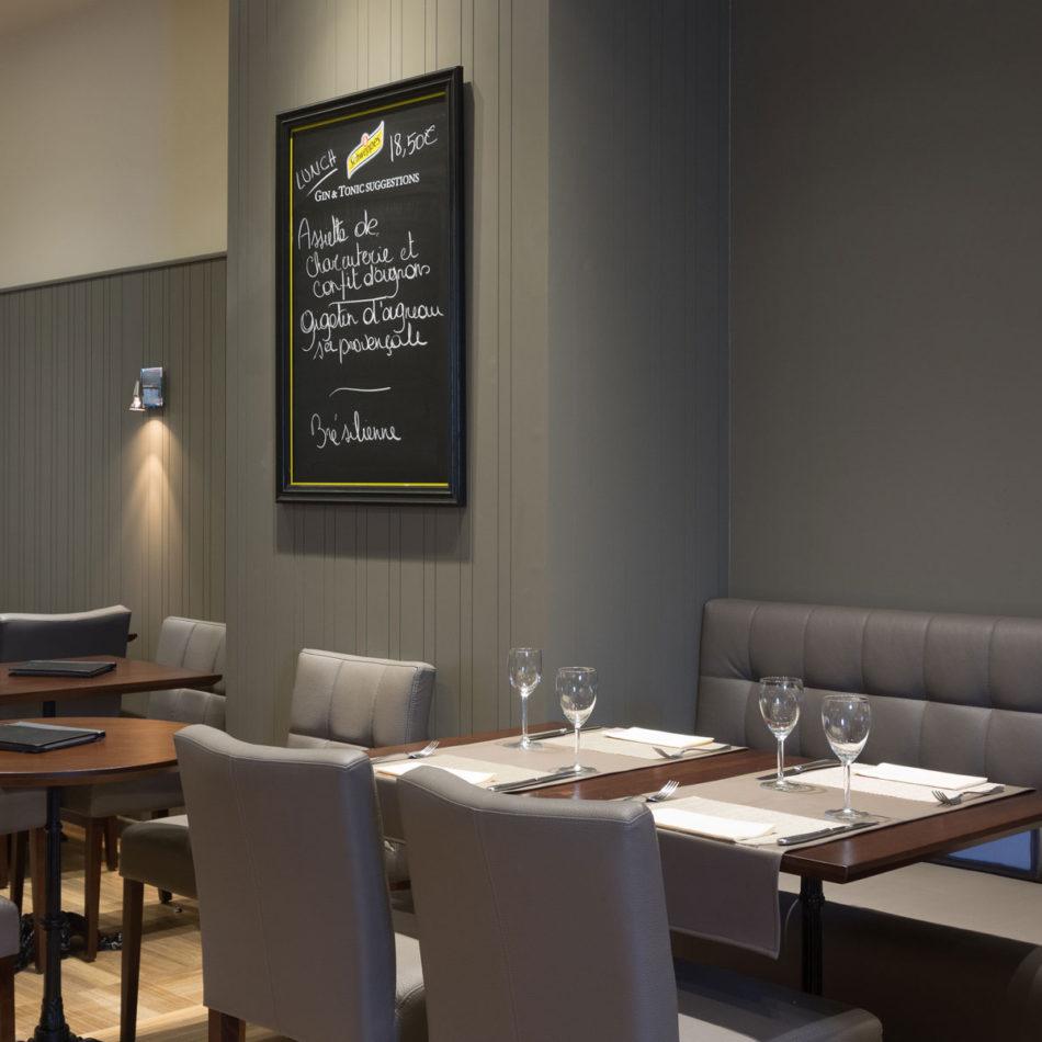 Inrichting restaurant Le Milord Sint-Agatha-Berchem