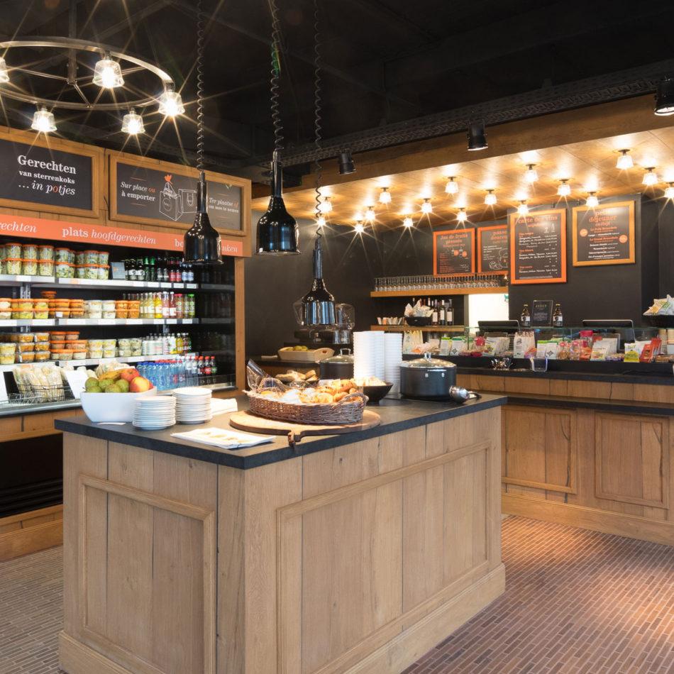 Boco Brussel inrichting horeca brasserie