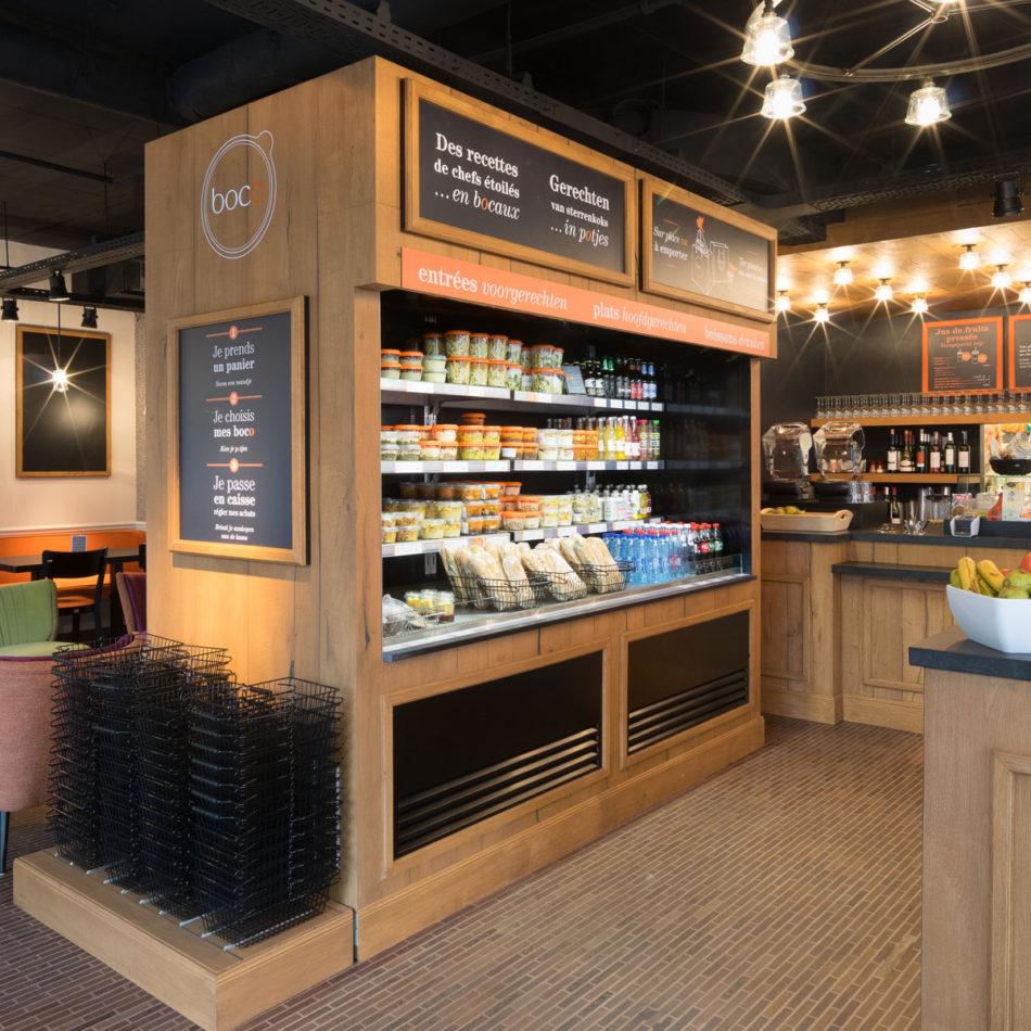 Restaurant Boco - inrichting en interieur door Integral Interiors