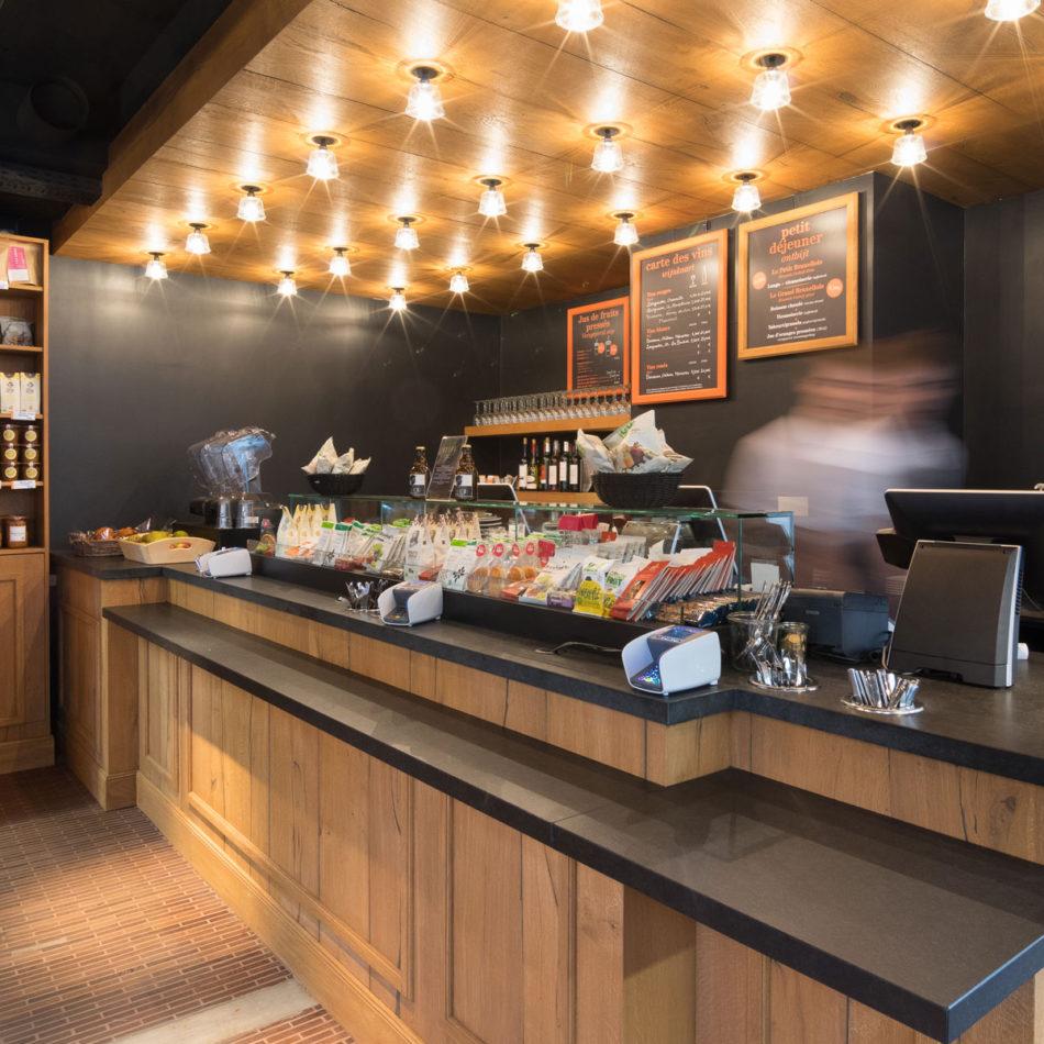 Restaurant Boco in Brussel - inrichting en interieur door Integral Interiors
