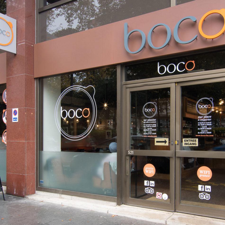 Boco Brussel restaurantinrichting door Integral Interiors