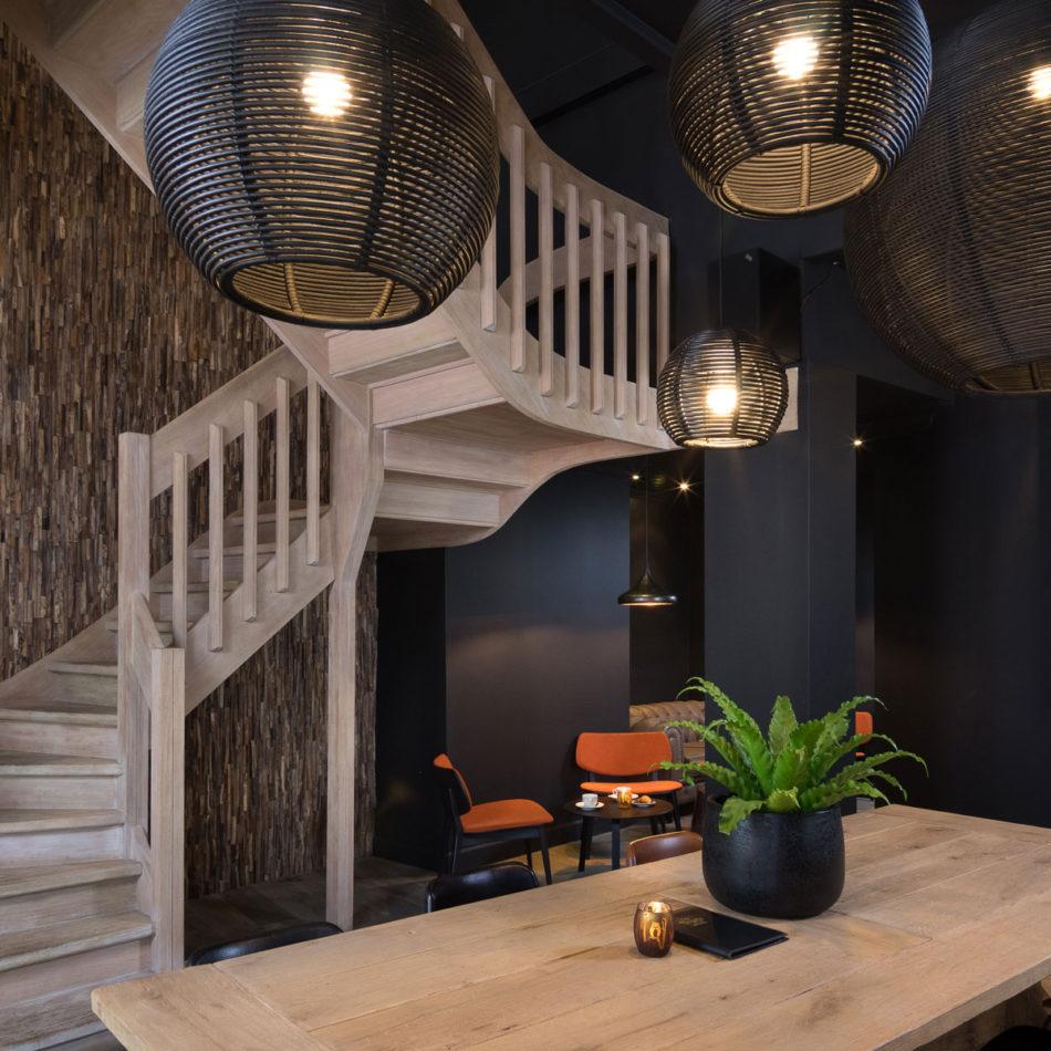 Brasserie Tudor Rose - Koninginnehof Oostende vernieuwde inrichting