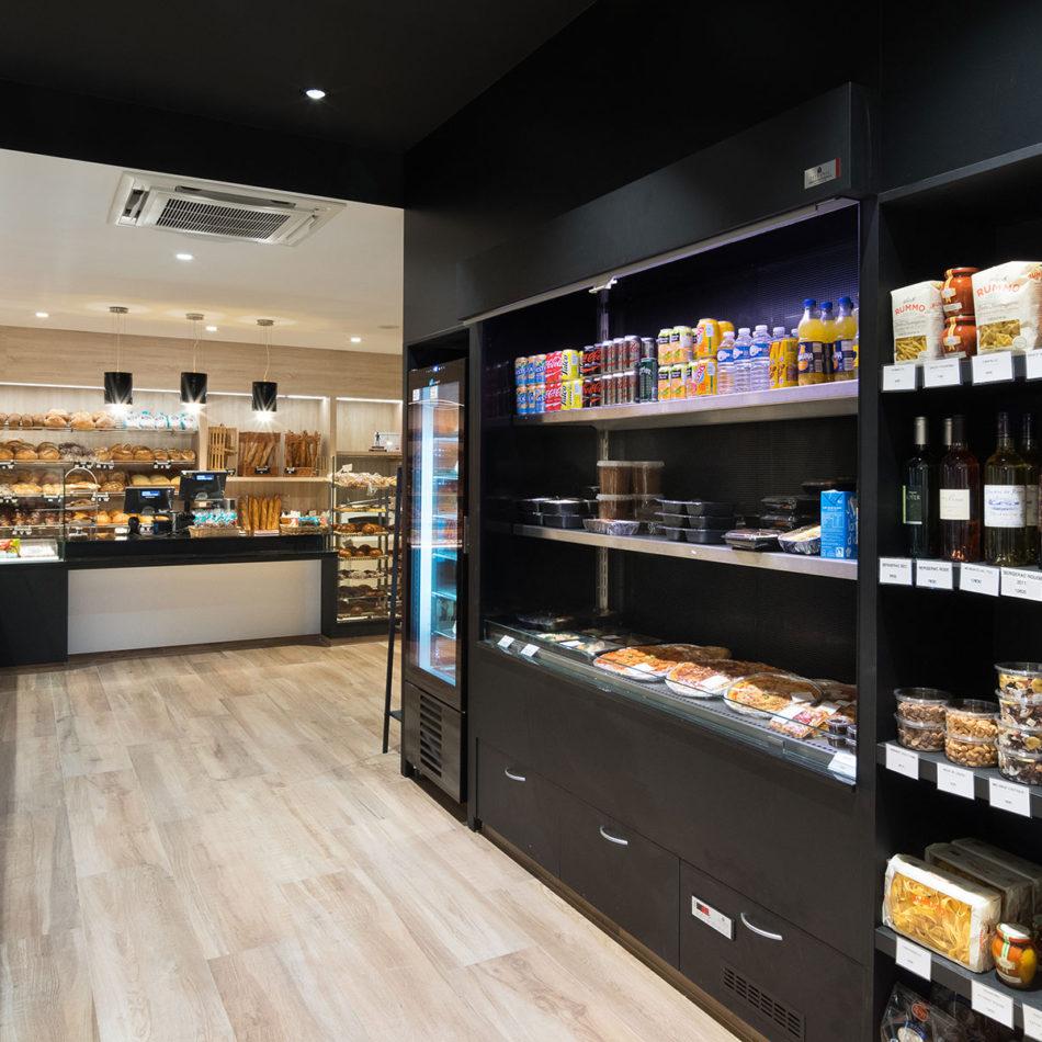 Bakkerij Boulangerie Vienne totaalinrichting vernieuwd