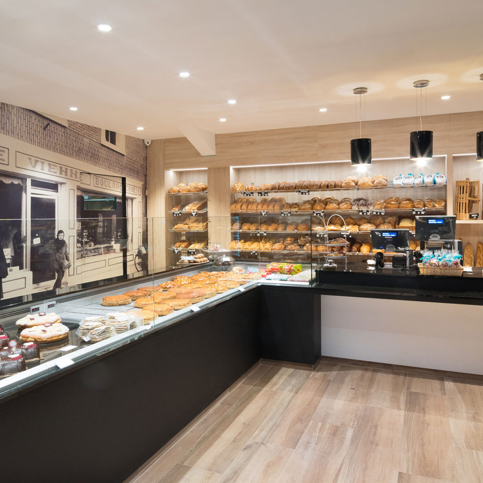 Boulangerie Vienne bakkerszaak inrichting